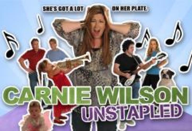 Carnie Wilson: Unstapled next episode air date poster
