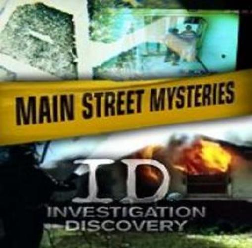 Main Street Mysteries next episode air date poster