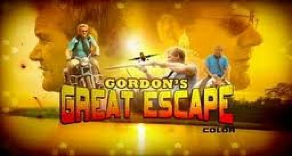 Gordon's Great Escape next episode air date poster