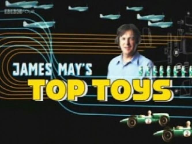 James May's Top Toys next episode air date poster