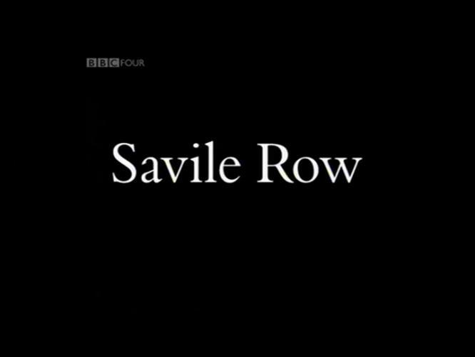 Savile Row next episode air date poster