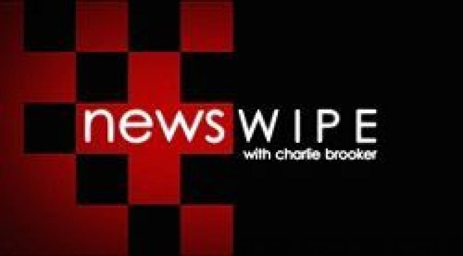 Newswipe With Charlie Brooker next episode air date poster