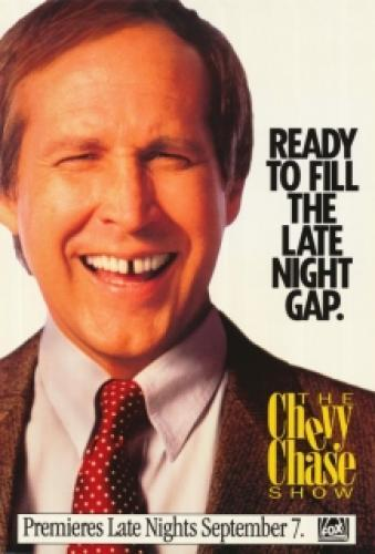 The Chevy Chase Show next episode air date poster