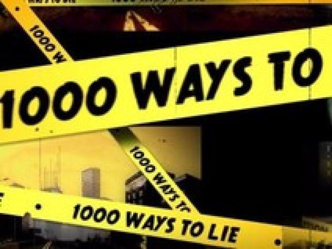 1,000 Ways to Lie next episode air date poster