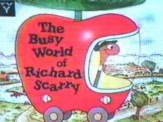 The Busy World of Richard Scarry next episode air date poster