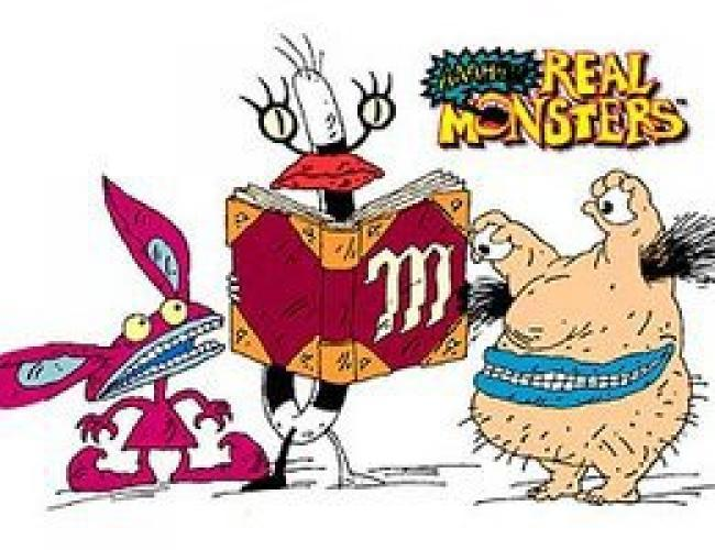 Aaahh!!! Real Monsters next episode air date poster