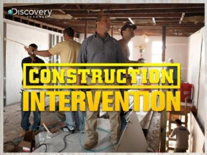 Construction Intervention next episode air date poster