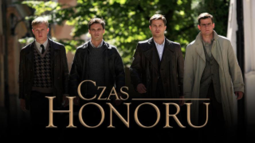 Czas honoru next episode air date poster