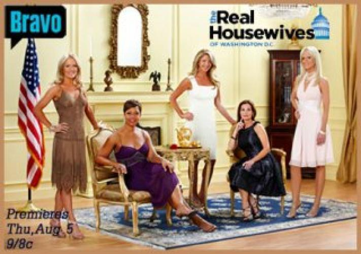 The Real Housewives of DC next episode air date poster