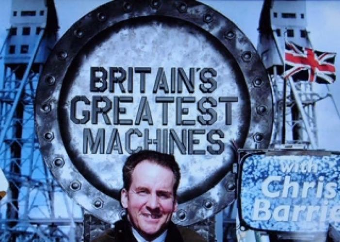 Britain's Greatest Machines next episode air date poster