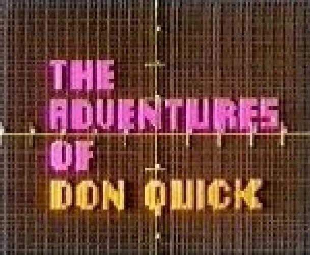 The Adventures of Don Quick next episode air date poster