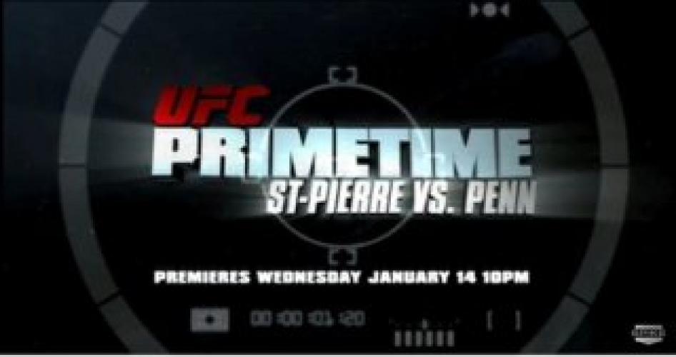 UFC Primetime next episode air date poster