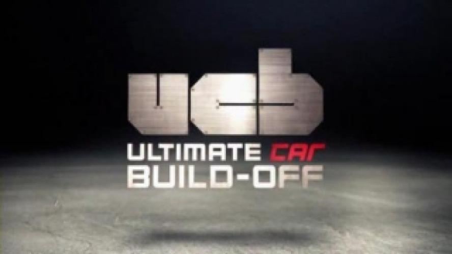 Ultimate Car Build-Off next episode air date poster