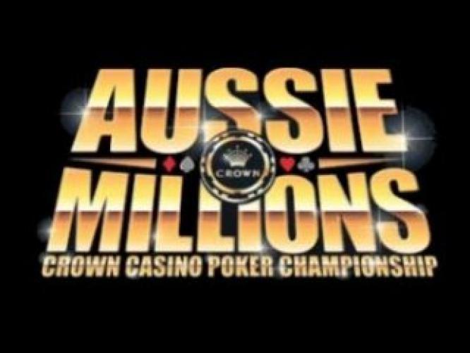 Aussie Millions next episode air date poster