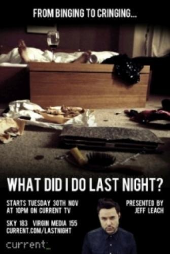 What Did I Do Last Night? next episode air date poster