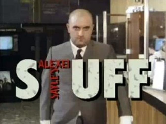 Alexei Sayle's Stuff next episode air date poster