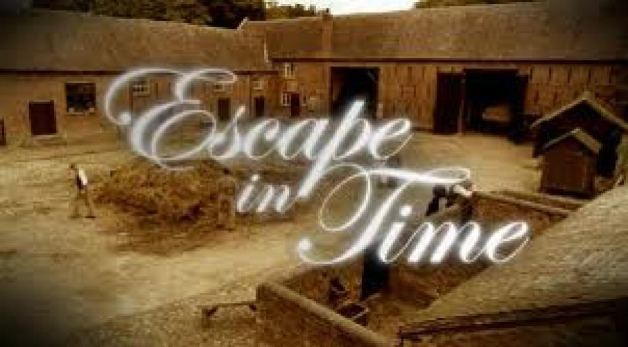 Ben Fogle's Escape in Time next episode air date poster