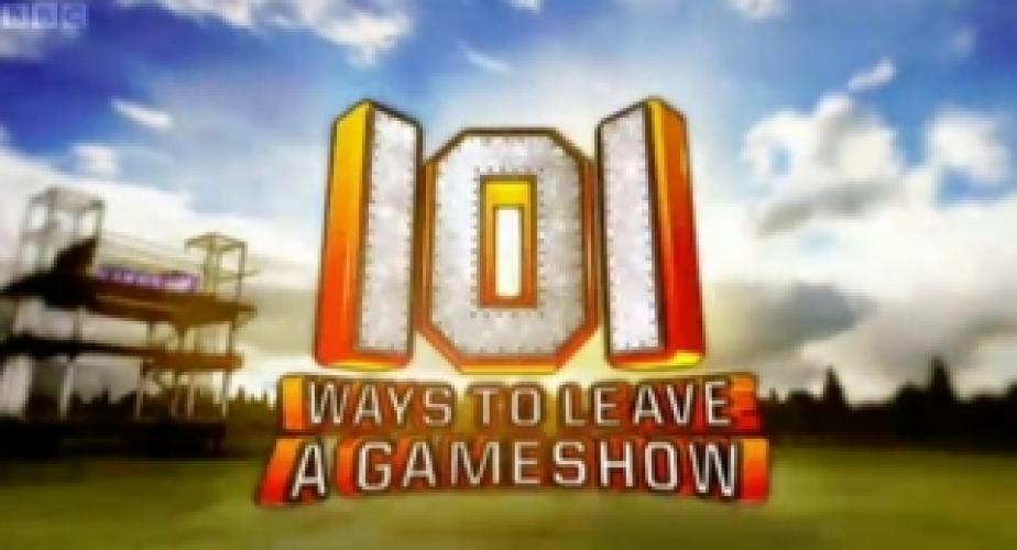 101 Ways to Leave a Gameshow next episode air date poster