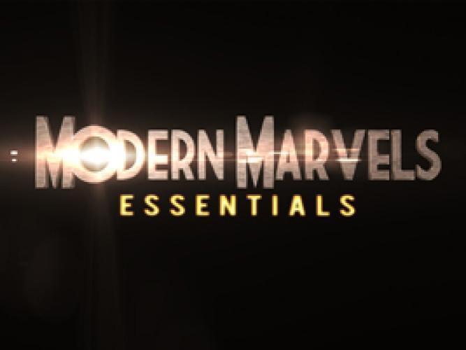 Modern Marvels Essentials next episode air date poster