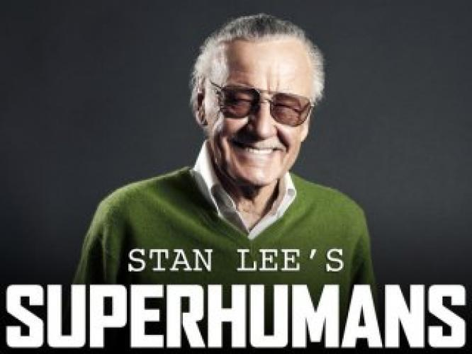 Stan Lee's SuperHumans next episode air date poster