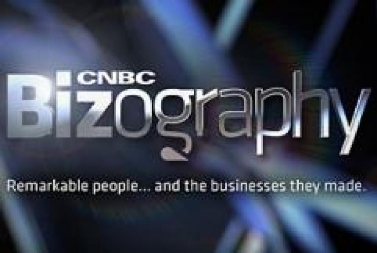 CNBC Bizography next episode air date poster