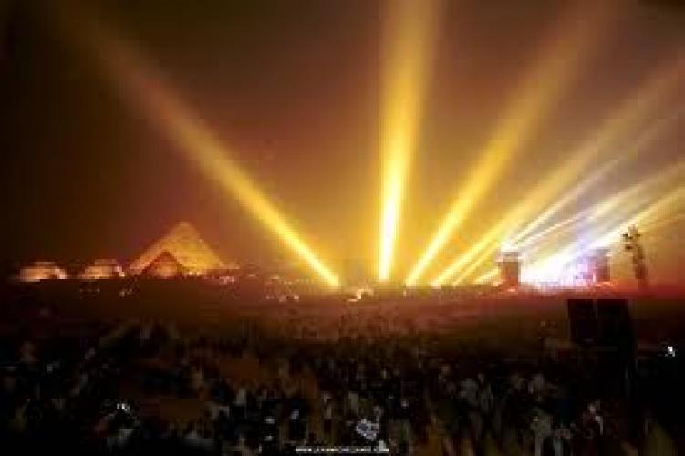 Jean Michel Jarre at the Pyramids next episode air date poster