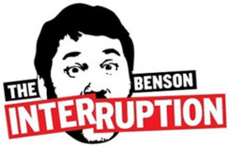The Benson Interruption next episode air date poster