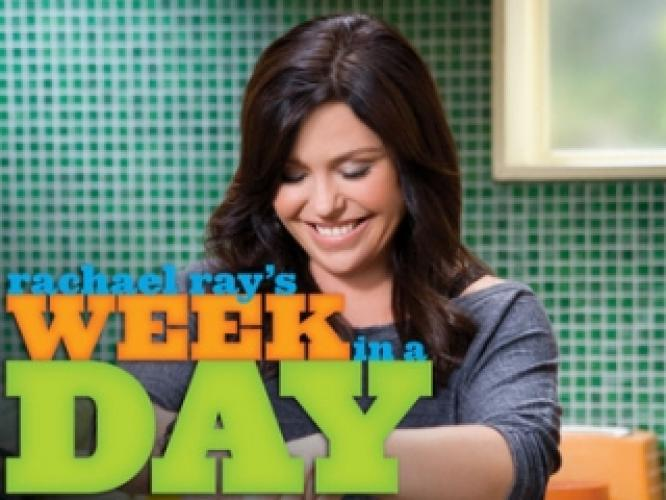 Rachael Ray's Week in a Day next episode air date poster