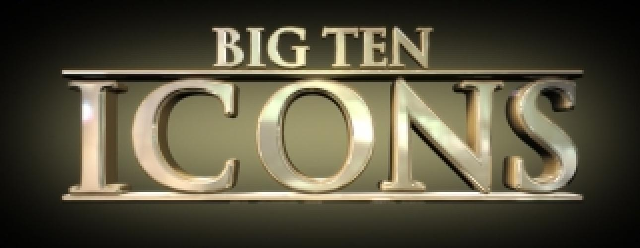 Big Ten Icons next episode air date poster