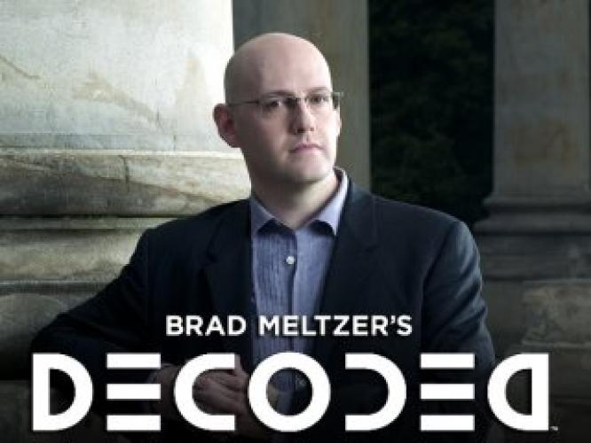 Brad Meltzer's Decoded next episode air date poster