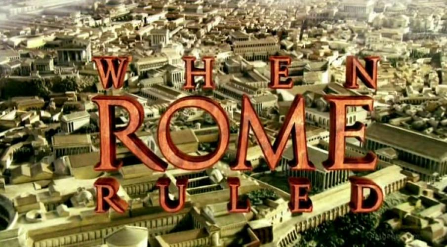 When Rome Ruled next episode air date poster