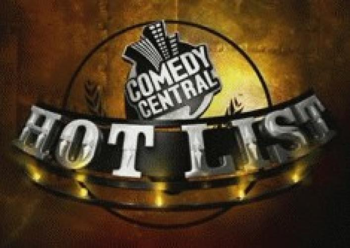 Comedy Central's Hot List next episode air date poster