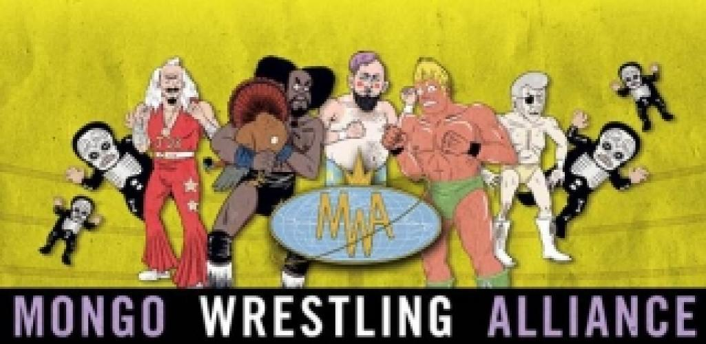 Mongo Wrestling Alliance next episode air date poster