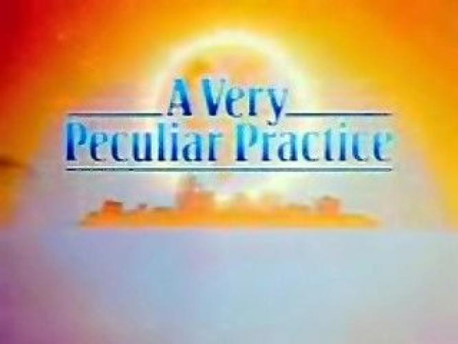 A Very Peculiar Practice next episode air date poster