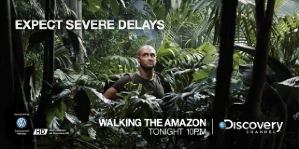 Walking the Amazon next episode air date poster
