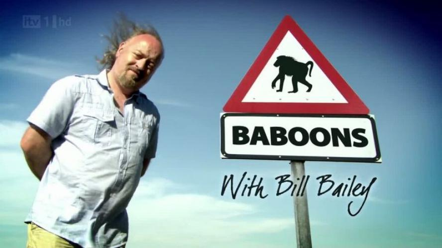 Baboons with Bill Bailey next episode air date poster