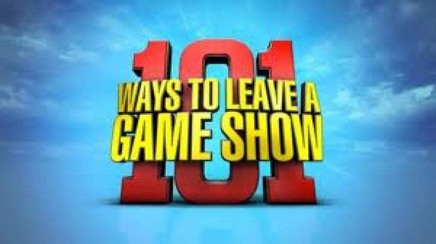 101 Ways to Leave a Game Show next episode air date poster