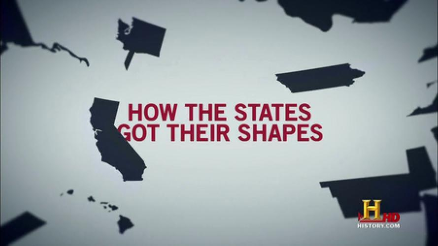 How the States Got Their Shapes next episode air date poster
