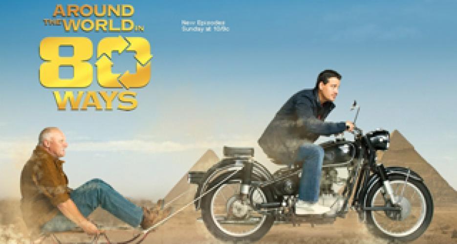 Around the World in 80 Ways next episode air date poster