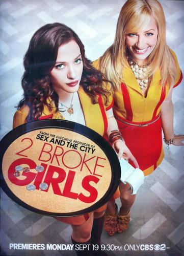 2 Broke Girls next episode air date poster