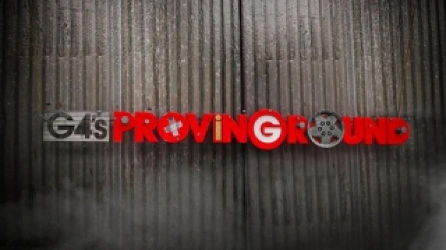 G4's Proving Ground next episode air date poster
