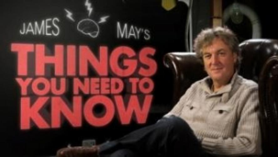James May's Things You Need to Know next episode air date poster