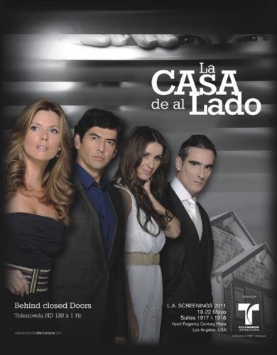 La Casa de al Lado next episode air date poster