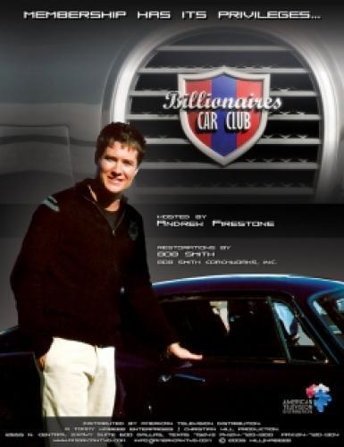 Billionaire's Car Club next episode air date poster