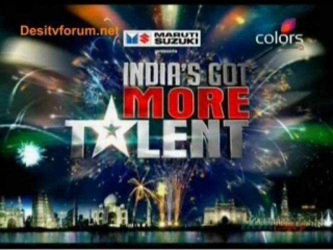 India's Got More Talent next episode air date poster