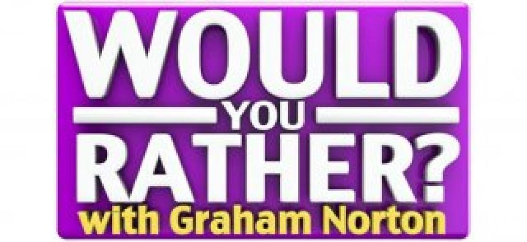Would You Rather...? with Graham Norton next episode air date poster