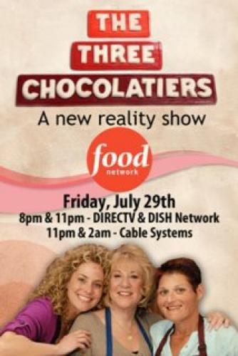 The Three Chocolatiers next episode air date poster