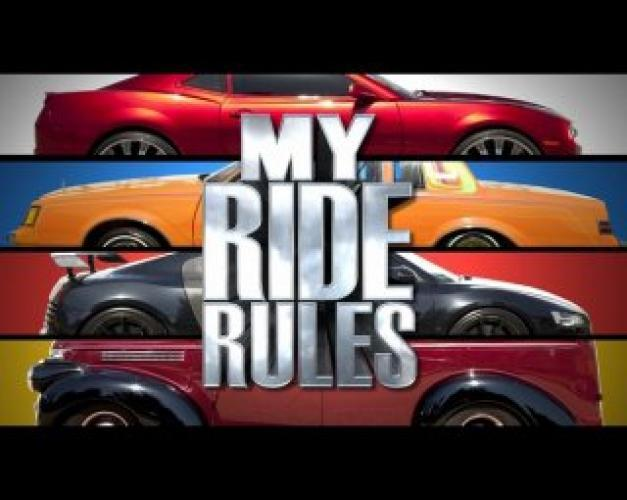 My Ride Rules next episode air date poster