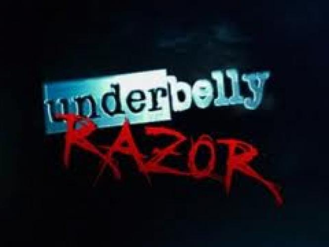 Underbelly: Razor next episode air date poster