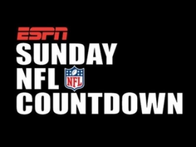 Sunday NFL Countdown next episode air date poster